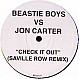 BEASTIE BOYS - CHECK IT OUT (REMIX) - BEASTLY 1 - VINYL RECORD - MR136262