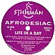 AFRODESIAC - LIFE IN A DAY - STICKMAN - VINYL RECORD - MR137724