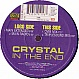CRYSTAL - IN THE END - DANCE FACTORY - VINYL RECORD - MR137736