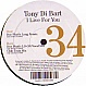 TONY DI BART - I LIVE FOR YOU (MIXES) - LE BIEN ET LE MAL - VINYL RECORD - MR138472