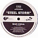 AFRICANISM ALL STARS PRESENTS - STEEL STORM - YELLOW - VINYL RECORD - MR144010