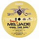 MS JADE - FEEL THE GIRL - INTERSCOPE - VINYL RECORD - MR149350
