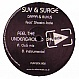 SUV, SURGE & AUDIO REPLAY - FEEL THE UNDERGROUND - PLAY SIDE - VINYL RECORD - MR149444
