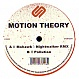 MOTION THEORY - MOHAWK (NIGHTWALKER REMIX) - SIGNAL - VINYL RECORD - MR151267