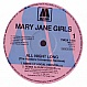 MARY JANE GIRLS - ALL NIGHT LONG ( THE HUSTLES CONVENTION ) - MOTOWN - VINYL RECORD - MR154198