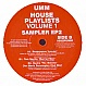 VARIOUS ARTISTS - UMM HOUSE PLAYLIST VOL.1 (SAMPLER EP 2) - UMM - VINYL RECORD - MR156413