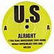 URBAN SOUL - ALRIGHT (2005 REMIX) - WHITE - VINYL RECORD - MR158805