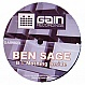 BEN SAGE - NOTHING INSIDE - GAIN - VINYL RECORD - MR159136
