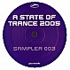 VARIOUS ARTISTS - A STATE OF TRANCE (2005 SAMPLER 3) - ARMADA - VINYL RECORD - MR161509
