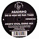 ASADINHO - DIS IS HOW WE RUN TINGS - HONCHOS MUSIC - VINYL RECORD - MR165851