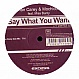 IAN CAREY & MOCHICO - SAY WHAT YOU WANT - EXECUTIVE LIMITED - VINYL RECORD - MR169069