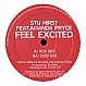 STU HIRST - FEEL EXCITED - LIMBO - VINYL RECORD - MR170778