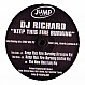 DJ RICHARD - KEEP THIS FIRE BURNING - JUMP RECORDS - VINYL RECORD - MR172427