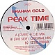 GRAHAM GOLD - PEAK TIME - GOOD AS - VINYL RECORD - MR17692