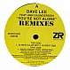 DAVE LEE FEAT ANN SAUNDERSON - YOU'RE NOT ALONE (REMIXES) - Z RECORDS - VINYL RECORD - MR193583