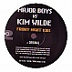 MAJOR BOYS VS KIM WILDE - FRIDAY NIGHT KIDS - NO2 RECORDS 10 - VINYL RECORD - MR195803
