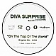 DIVA SURPRISE - ON TOP OF THE WORLD - SCORPIO - VINYL RECORD - MR20086