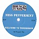 MISS PEPPERMINT - WELCOME TO TOMMOROW (KB PROJECT MIX) - BOUNCIN TUNES - VINYL RECORD - MR201713