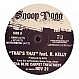 SNOOP DOGG FEAT. R KELLY - THATS THAT - GEFFEN - VINYL RECORD - MR204658