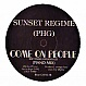 SUNSET REGIME - COME ON PEOPLE - RHYTHM & LOVE - VINYL RECORD - MR220212