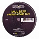 PAUL STAR - FREAKS COME OUT - ROYAL FLUSH - VINYL RECORD - MR220331