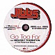 JIBBS FEAT. MELODY THORNTON (PCD) - GO TOO FAR - GEFFEN - VINYL RECORD - MR221453