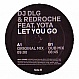 DJ DLG & REDROCHE FEAT YOTA - LET YOU GO - KONTOR - VINYL RECORD - MR229400