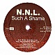 NNL - SUCH A SHAME - BLANCO Y NEGRO - VINYL RECORD - MR229420