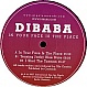 DIBABA - IN YOUR FACE IS THE PLACE - GIGOLO - VINYL RECORD - MR240273