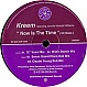 KREEM - NOW IS THE TIME - KMS - VINYL RECORD - MR26422