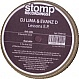 DJ LIMA & EVANZ D - LESSONS E.P - STOMP - VINYL RECORD - MR264753