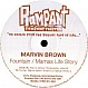 MARVIN BROWN - FOUNTAIN / MAMAS LIFE STORY - RAMPANT RECORDS - VINYL RECORD - MR270101