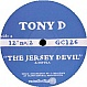 TONY D - THE JERSEY DEVIL - GRAND CENTRAL - VINYL RECORD - MR273191