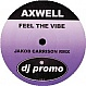 AXWELL - FEEL THE VIBE (2008 REMIX) - WINX - VINYL RECORD - MR274411