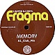FRAGMA - MEMORY - TIGER - VINYL RECORD - MR280181