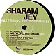 SHARAM JEY - SHAKE YOUR (2008 REMIXES) - KING KONG - VINYL RECORD - MR280648