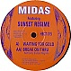 MIDAS FEATURING SUNSET REGIME - WAITING FOR GOLD - HECTIC - VINYL RECORD - MR287563