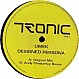 UMEK - DESIGNED PERSONA - TRONIC MUSIC  - VINYL RECORD - MR298561