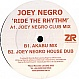 JOEY NEGRO - RIDE THE RHYTHM - Z RECORDS - VINYL RECORD - MR299258