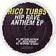 RICO TUBBS - HIP RAVE ANTHEM EP - CHEAP THRILLS - VINYL RECORD - MR299813