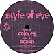 STYLE OF EYE - COLORES - PIECES OF EIGHT - VINYL RECORD - MR305067