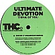 ULTIMATE DEVOTION - THINK OF YOU - TURBULENCE HARDCORE - VINYL RECORD - MR315427