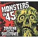ZOMBINA AND THE SKELETONES - MONSTERS ON 45 - ECTOPLASMIC - CD - MR315527