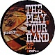 PAOLO MOJO  - PLAY YOUR HAND EP - OOSH - VINYL RECORD - MR317883