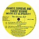 RAMOS SUPREME & SUNSET REGIM - THE REMIX EP - HECTIC - VINYL RECORD - MR32579