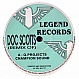 Q PROJECT - CHAMPION SOUND (REMIX) + ORIGINAL - LEGEND RECORDS - VINYL RECORD - MR33065