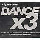 VARIOUS ARTISTS - DANCE X3 - DMV 170 - CD - MR342425