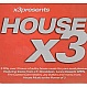 VARIOUS ARTISTS - HOUSE X3 - DMV - CD - MR342655