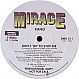 KANO - DON'T TRY TO STOP ME - MIRAGE - VINYL RECORD - MR343675