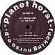 PLANET HORST - FUCKING NURSE - BOMZH 2 - VINYL RECORD - MR346727